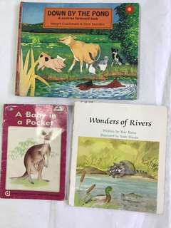 Kids books : Dave Saunders .....