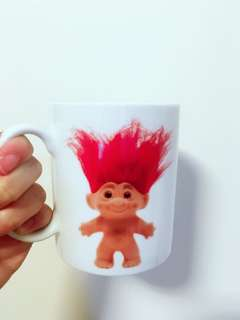幸運祖 Trolls dress up mug