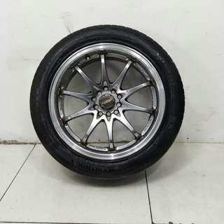 17 '' Sports Rim With Tyre 5x100 5x114.3 (SR1081)