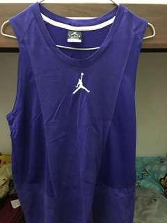 Air Jordan Dri-Fit 背心(紫)