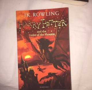 Buku harry potter order of phoenix