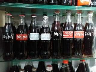 可口可樂 Coca Cola 非洲埃塞俄比亞文字樽系列