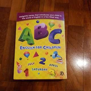 English for Children 3 pcs DVD
