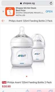 Philip Avent 125ml feeding bottle