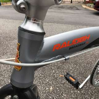 Raleigh Broadway 30 foldable bike