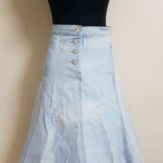 Acne Denim skirt