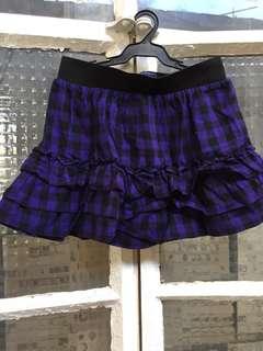 Girls Gingham skirt,