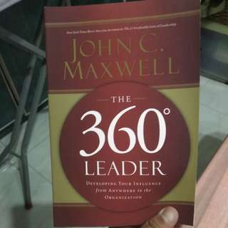 John maxwell the 360 leader