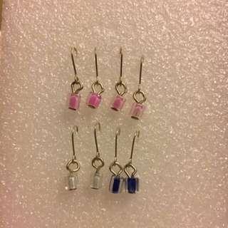 Hook Coloured Earring
