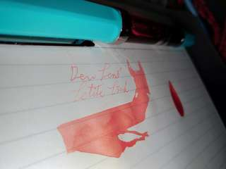 Dew Pens' Petite Pink(fountain pen ink) #blessing