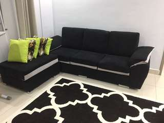 L Shape Sofa 3 seater
