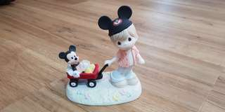 """Precious Moments """"Wherever the road leads, together we'll always be"""" disney figurine"""