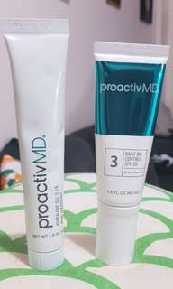 Proactiv MD Daily Oil Control and Adapelene Gel