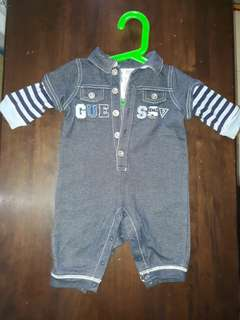 Baby Guesst Jeans Rompers