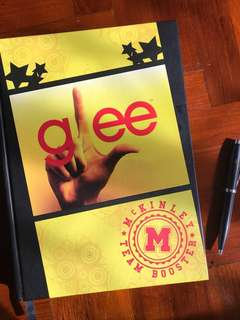 GLEE A4 Notebook