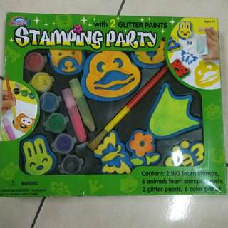 [CLEARANCE] Stamping Party Assorted Foam Stamps