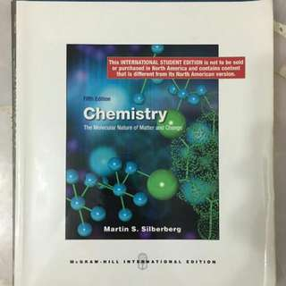 Chemistry-The Molecular Nature Of Matter And Change (Fifth Edition)