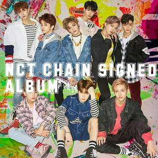 NCT127 CHAIN SIGNED ALBUM