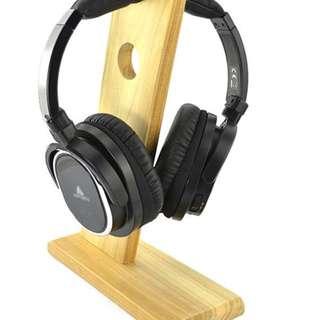 木質耳機架1