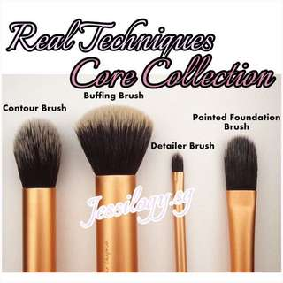 NEW INSTOCK Real Techniques Core Collection Brush Set By Sam And Nic Chapman / Real Techniques by Sam & Nic - CORE COLLECTION 2018 Series