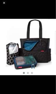 Skip Hop Forma Pack & Go Diaper Tote Bag - Black