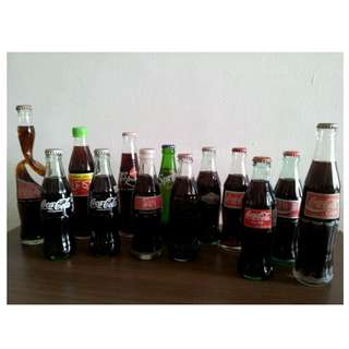 Coke & Sprite Bottles Collections