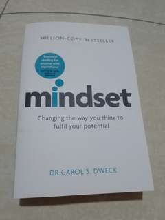 Mindset changing the way you think to fulfil your potential