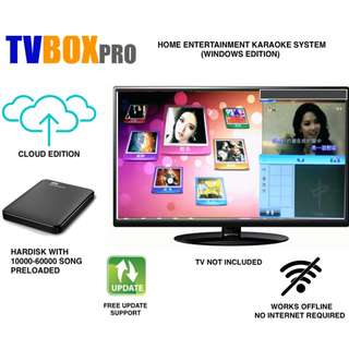 KTV Home Karaoke Entertainment System Windows 10,8,7,XP With Chinese And English MV Song