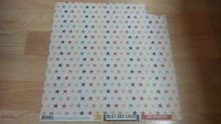 Simple Stories Cardstock - Stars and Bingo Cards
