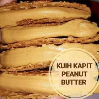 Kuih Kapit Flavour Peanut