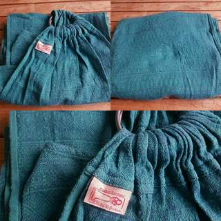 Didymos baby ring sling carrier Indio Emerald