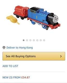 Fisher Price Real Steam Thomas & James真正出煙的安全蒸汽湯馬士火車頭