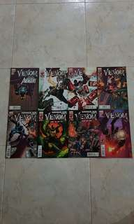 "Venom Vol 2 (Marvel Comics 8 Issues; #15 to 22, complete story arc on ""Savage Six"")"