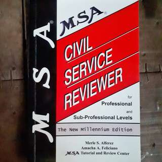 Civil Service Reviewer (used)