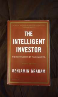 The Intelligent Investor (English - Import)