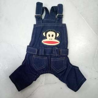 Xs Puppy Kitten Denim Clothes