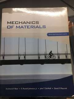 MA2001 Mechanics of Materials (MOM)