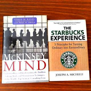 2 for $20: The Starbucks Experience; The McKinsey Mind