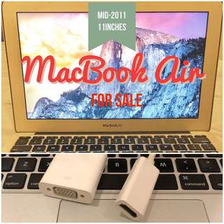 MacBook Air Mid-2011 (2nd hand)
