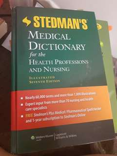 Stedman's Medical Dictionary for Health Professionals and Nurses 7E