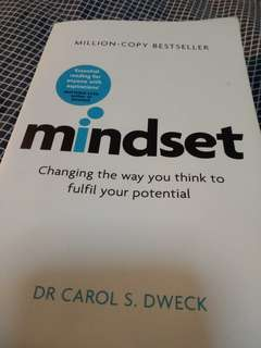 Mindset by Dr Carol Dweck
