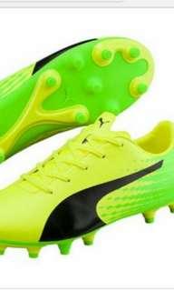 Authentic boy's PUMA EVOSPEED 17.5 FG JUNIOR boots