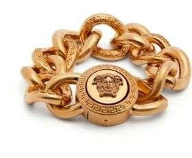 Versace solid 9 ct gold bracelet