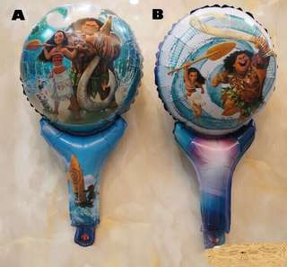 Moana party supplies - Moana balloons handheld balloons / party gifts