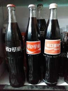 可口可樂 Coca Cola 台灣600 文字玻璃樽