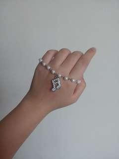 🚚 音符珍珠手鍊