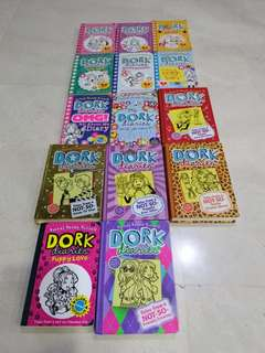 Dork diaries complete set