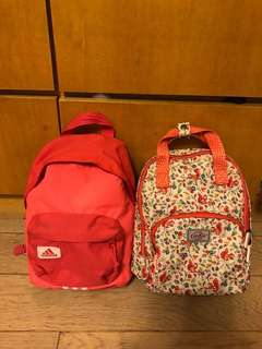 Cath Kidston / Adidas Girls Backpack 背包  (100% Authentic 真)