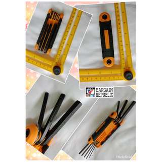Craftright Metric And Imperial Hex  Key Set