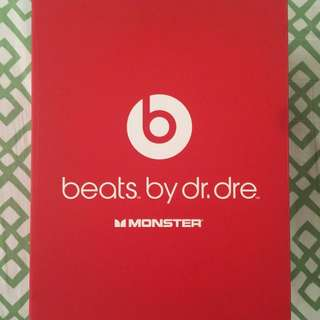 ORIGINAL BEATS BY DRE STUDIO